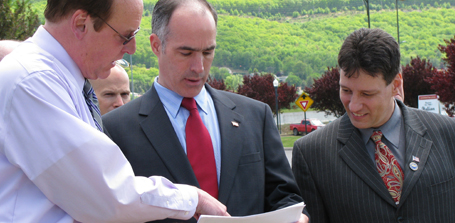 Senator Casey in Williamsport May 18, 2009