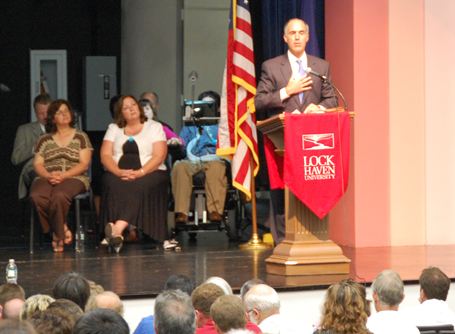 Senator Casey Answers Questions on Health Care Reform in Lock Haven