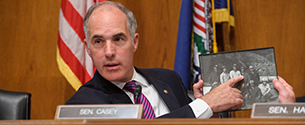Casey, Senators: No Special Consideration for Other Bills Until We Save Coal Miners' Health Care, Retirement
