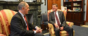 In Meeting with Defense Secretary Nominee, Casey Makes Case for PA, Foreign Policy Priorities