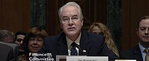 At Confirmation Hearing, Rep. Price Doubles Down on Far Right Plan to Block Grant Medicaid, Adversely Impacting PA Children, Seniors and Those with Disabilities