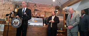 Casey Unveils Bipartisan Legislation that Could Help Local Harrisburg Businesses Open New Locations in the Region