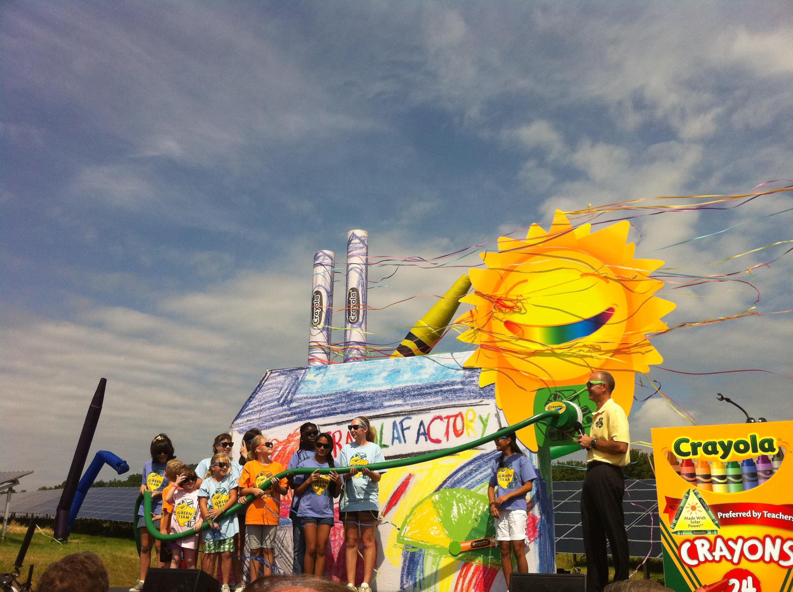 Crayola Solar Farm