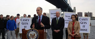 Casey Secures $2 Million Federal Grant to Improve SEPTA Buses and Bus Facilities