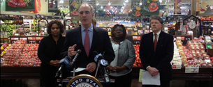 Casey Looks to Fight Hunger, Address Food Waste