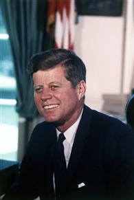 President  John F. Kennedy, 11 July 1963